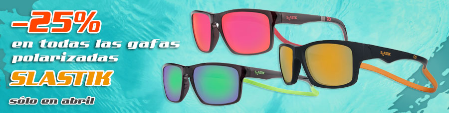 Gafas Slastik -25% en abril
