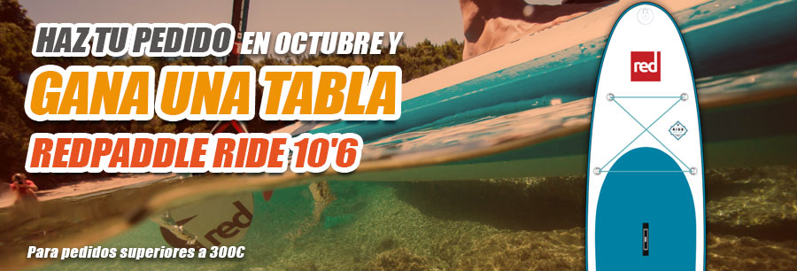 Sorteo Red Paddle RIDE