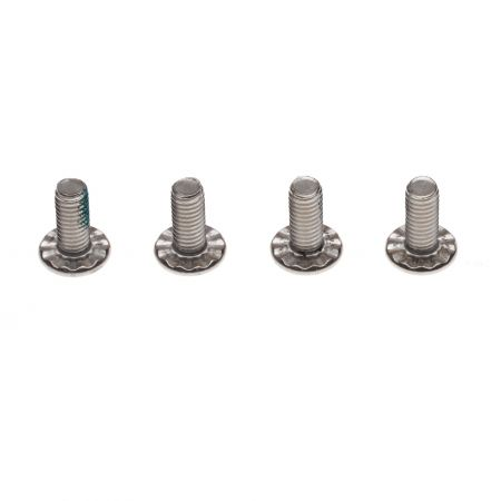 Duotone Footstrap Screw rippled 14mm (4pcs)