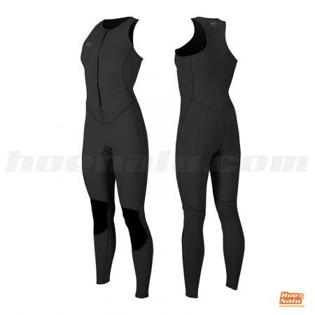 O'Neill Women Long Jane Reactor-2 1.5mm Front Zip Sleeveless