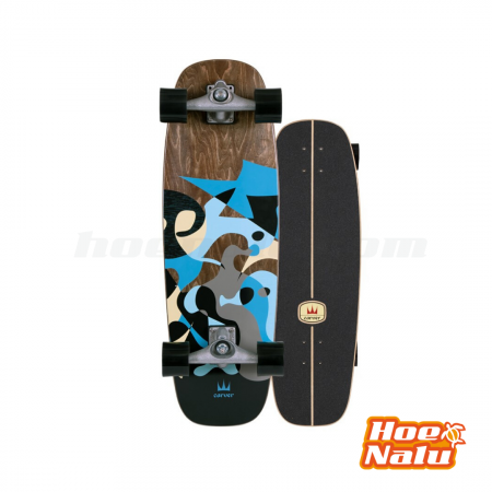 "SurfSkate Carver 30"" Blue Ray"