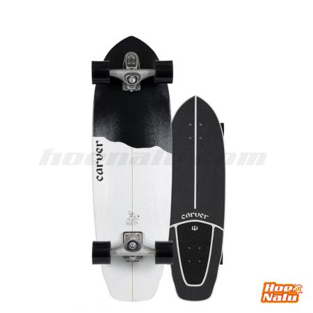 """SurfSkate Carver 32.5"""" Black Tip"""