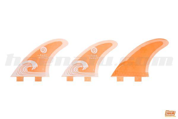 Radz Waikiki fins orange L FCS