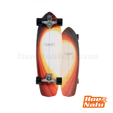 "SurfSkate Carver 32"" X 9.875"" Glass Off"