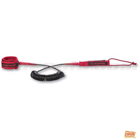 Leash DaKine Coiled 10' Red Racing