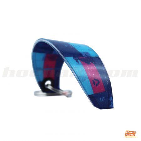 Llavero Pocket Kites Duotone Dice Azul