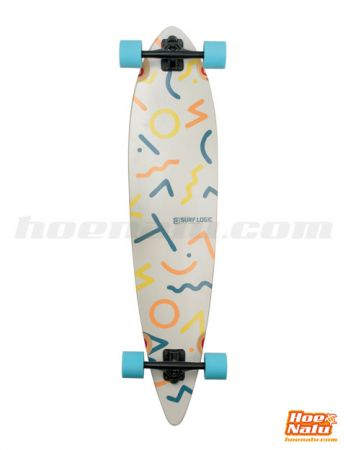 Surf Logic Longboard The Pattern bottom