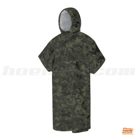 Mystic Poncho Velour Camouflage
