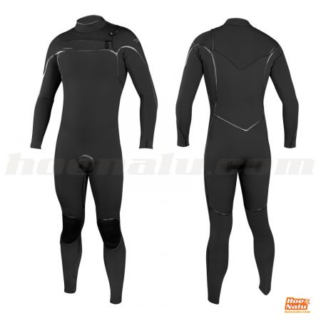 O'Neill Psycho One 4/3 Chest Zip Full Black