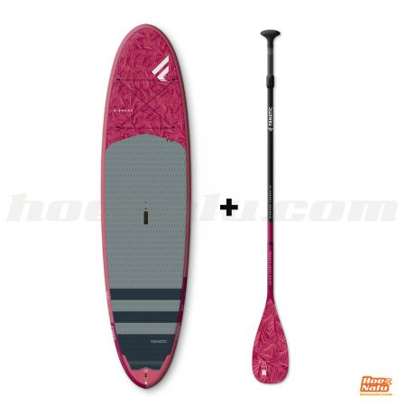"Pack Fanatic Diamond 9'6"" + Diamond adj paddle"
