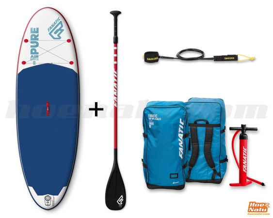 Pack económico Fanatic SUP Pure Air 10'4""
