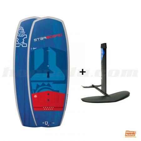 """Pack Starboard SUP Hyper Foil 6'4""""x25"""" Starlite 2019 + Foil Wave 1700 D"""