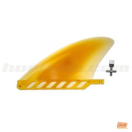 "4.6"" Yellow flex river fin"
