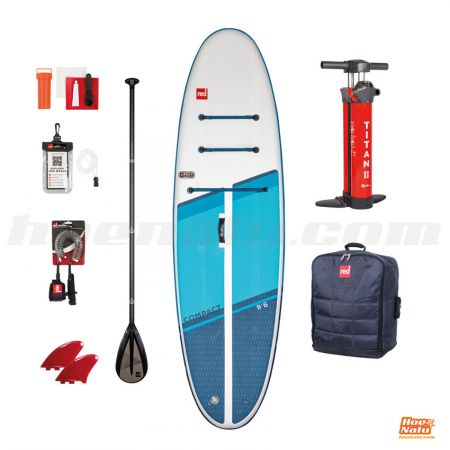 "Pack Red Paddle Co Compact 9'6"" 2021"