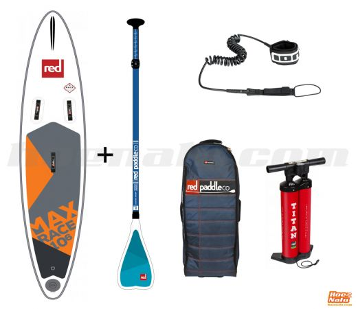 Pack Red Paddle Co Max Race 10'6'' 2018