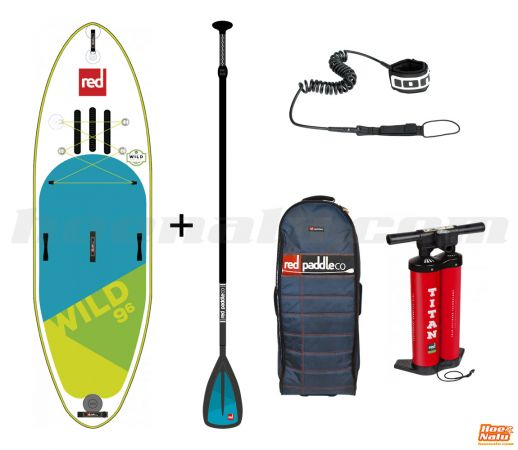 Pack completo de la Red Paddle Co Wild