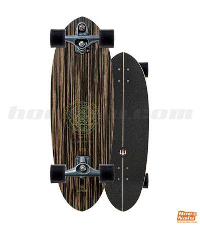 "SurfSkate Carver 30"" Haedron Nº3  Graphite"