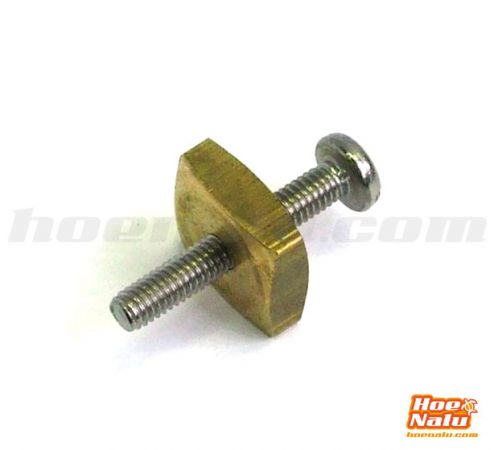 Screw + Brass Nut for US Box