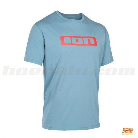 Camiseta ION Logo Azul Frontal