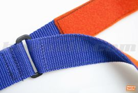 Detail of velcro and ring