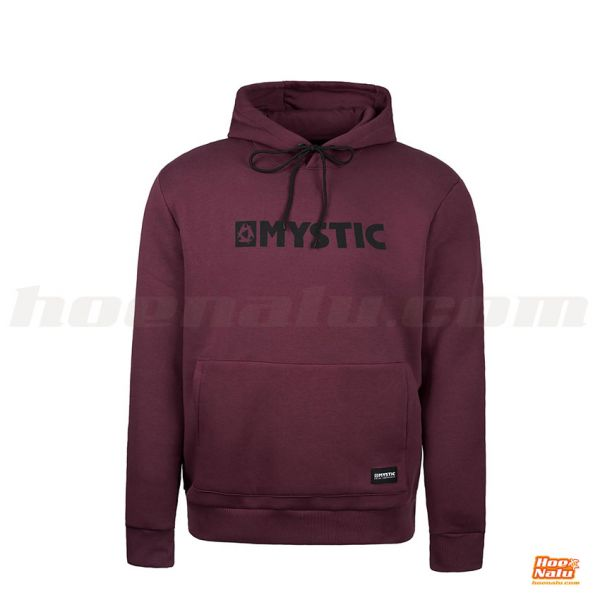 Mystic BGrand Hood Sweat red front