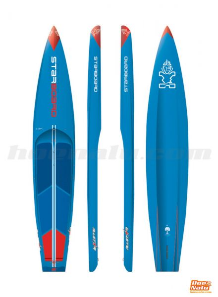 """Starboard SUP All Star 12'6"""" x 26"""" Hybrid Carbon 2018"""