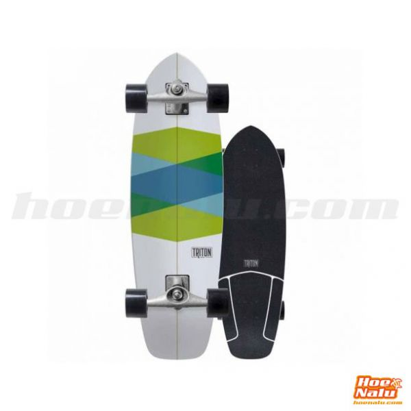 "SurfSkate Triton 32.5""Green Glass"