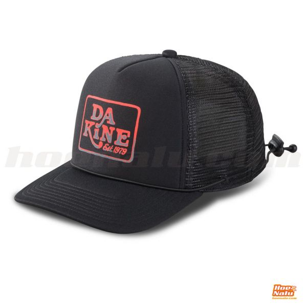 Dakine Lock Down Trucker Gorra Black