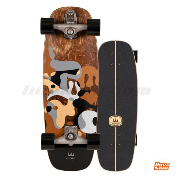 "SurfSkate Carver 27.5"" Gray Ray"