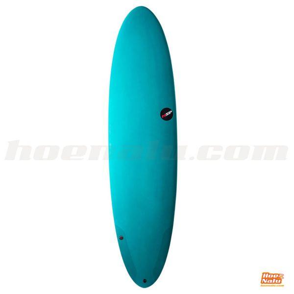 NSP Surfboard Protech Fun 7'2 Aqua