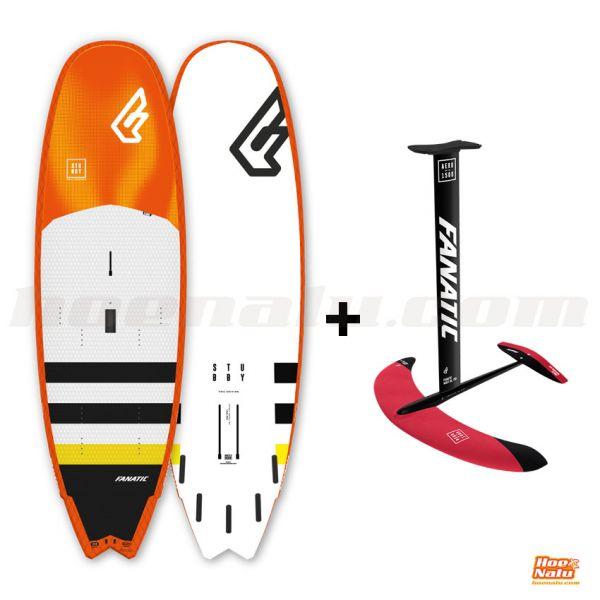 """Pack Fanatic Stubby Foil 8'7"""" + Aero Surf Foil 1500"""
