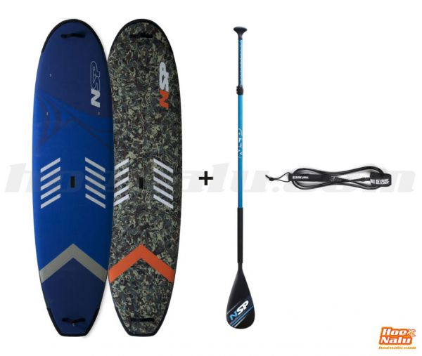 Pack NSP Soft + Paddle + Leash