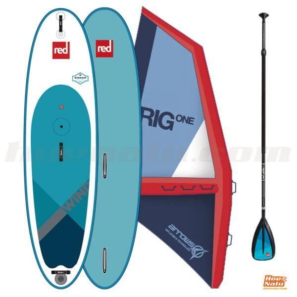 Pack Red Paddle Co WindSUP + vela iRig