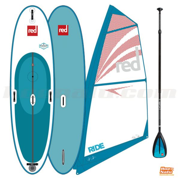 Pack Red Paddle Co Windsurf con la vela Red Paddle Co Ride Rig 4.5 m