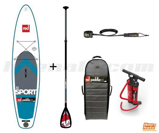 """Pack Red Paddle Co SPORT 11'0""""x30"""" RSS 2017"""