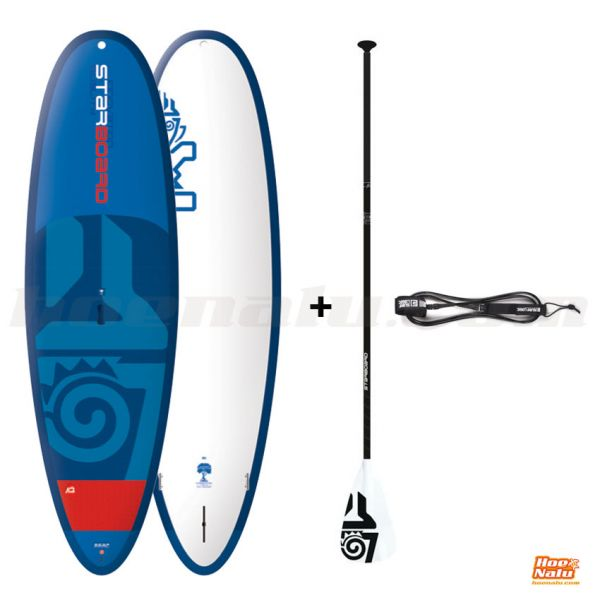 Pack Starboard Whopper + Starboard Tufskin Adj + Leash
