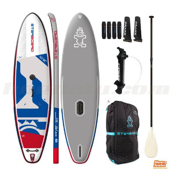 """Pack Starboard SUP iGo 10'8""""x33"""" Windsurfing Deluxe SC"""