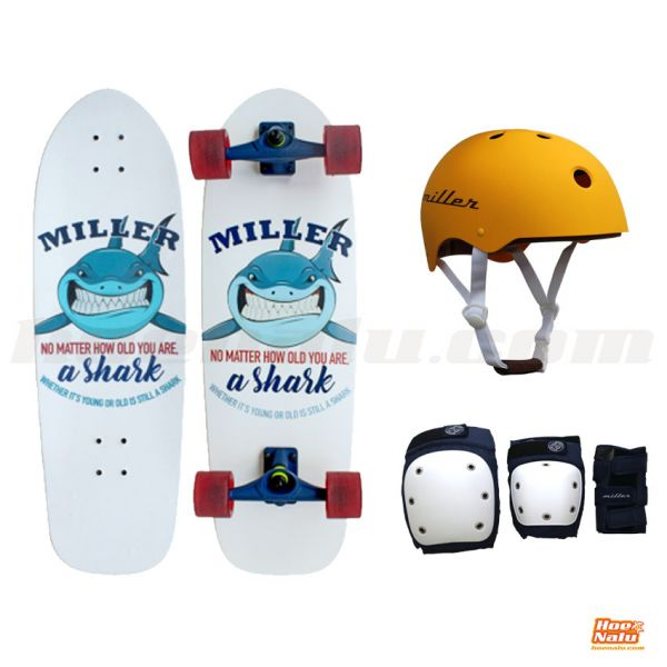 Pack Miller Surfskate Shark