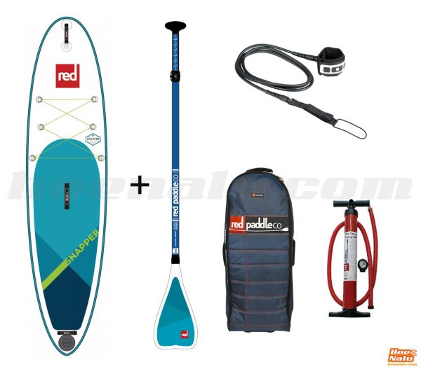 """Pack Red Paddle Co Snapper 9'4""""x27"""" 2018"""