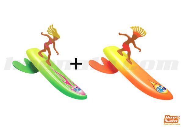 Pack Surfer Dudes Rick y Alice