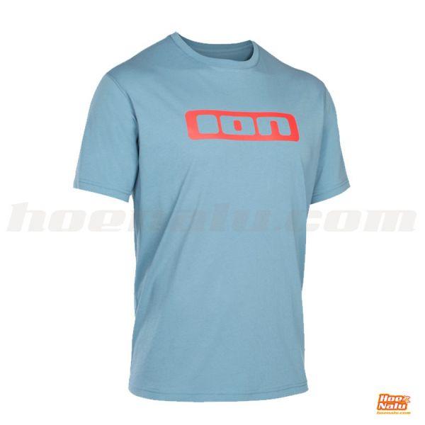 Camiseta ION Logo Azul Frontal