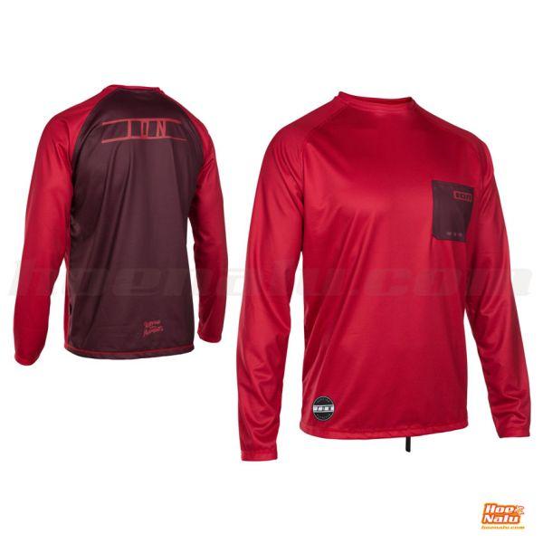 ION Wetshirt LS Rojo