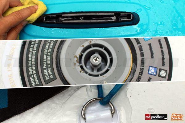 7 consejos para cuidar tu tabla de Paddle Surf hinchable