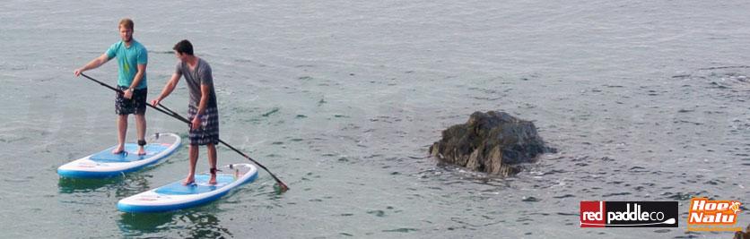 Practica PaddleSurf con buenas condiciones climáticas